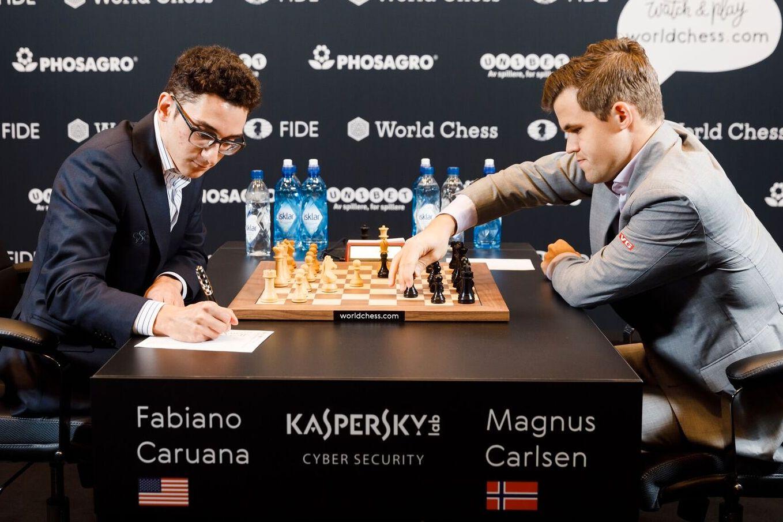 Carlsen Svarte Pa Caruanas Dristige Forsok En Stor Suksess