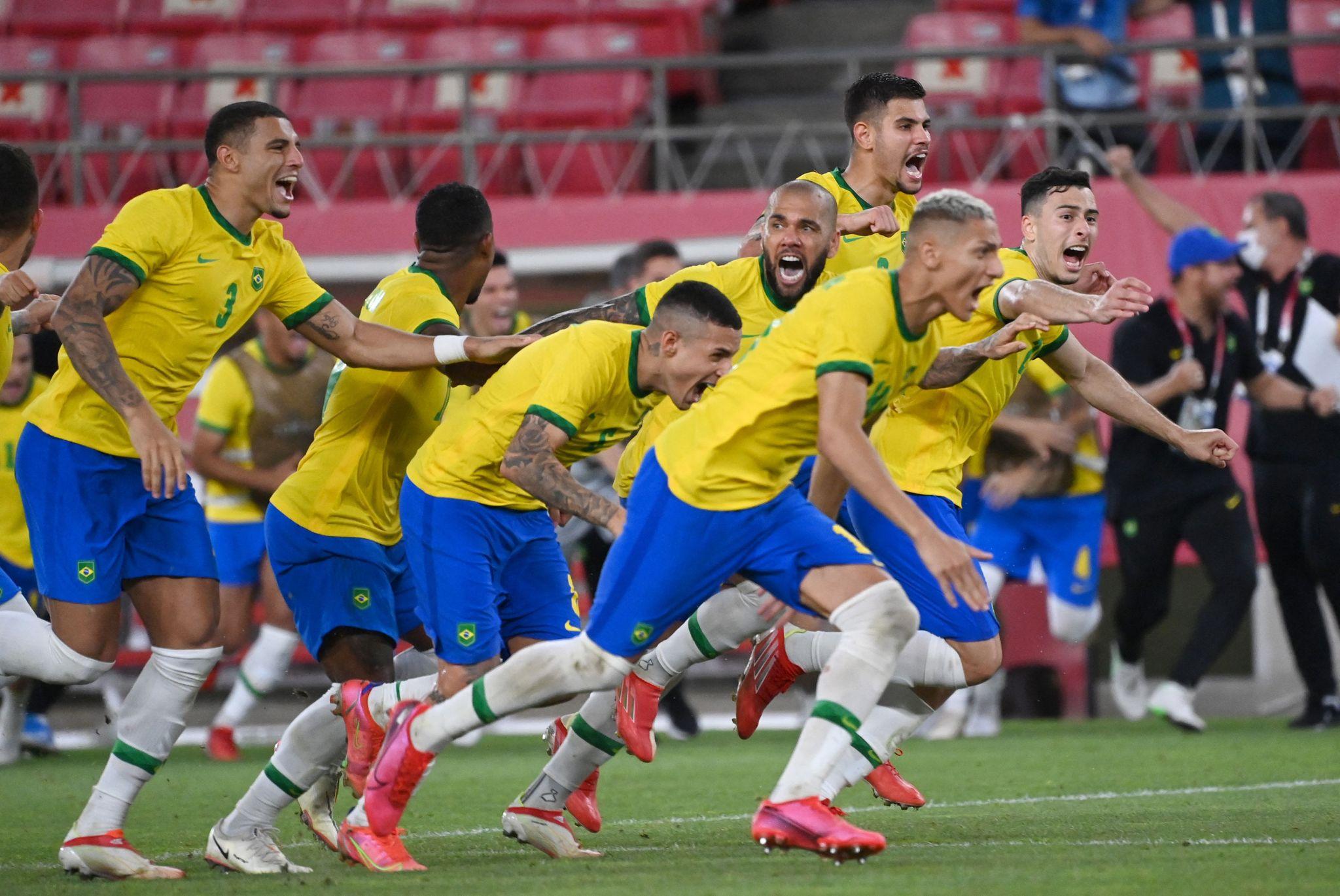 Brasil til OL-finale etter straffedrama - møter Spania i finalen