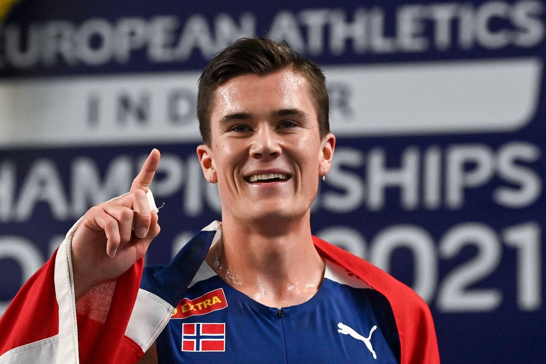 EM-gull på 3000 meter til Jakob Ingebrigtsen: – Man føler seg uslåelig