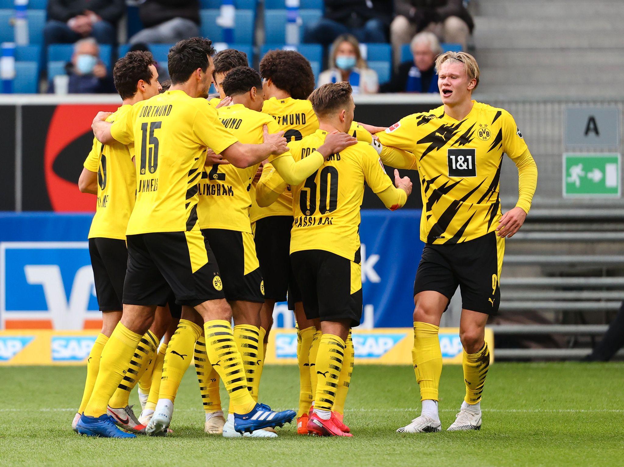 Dortmund Slet Med A Score Da Erling Braut Haaland Kom Inn Snudde Det