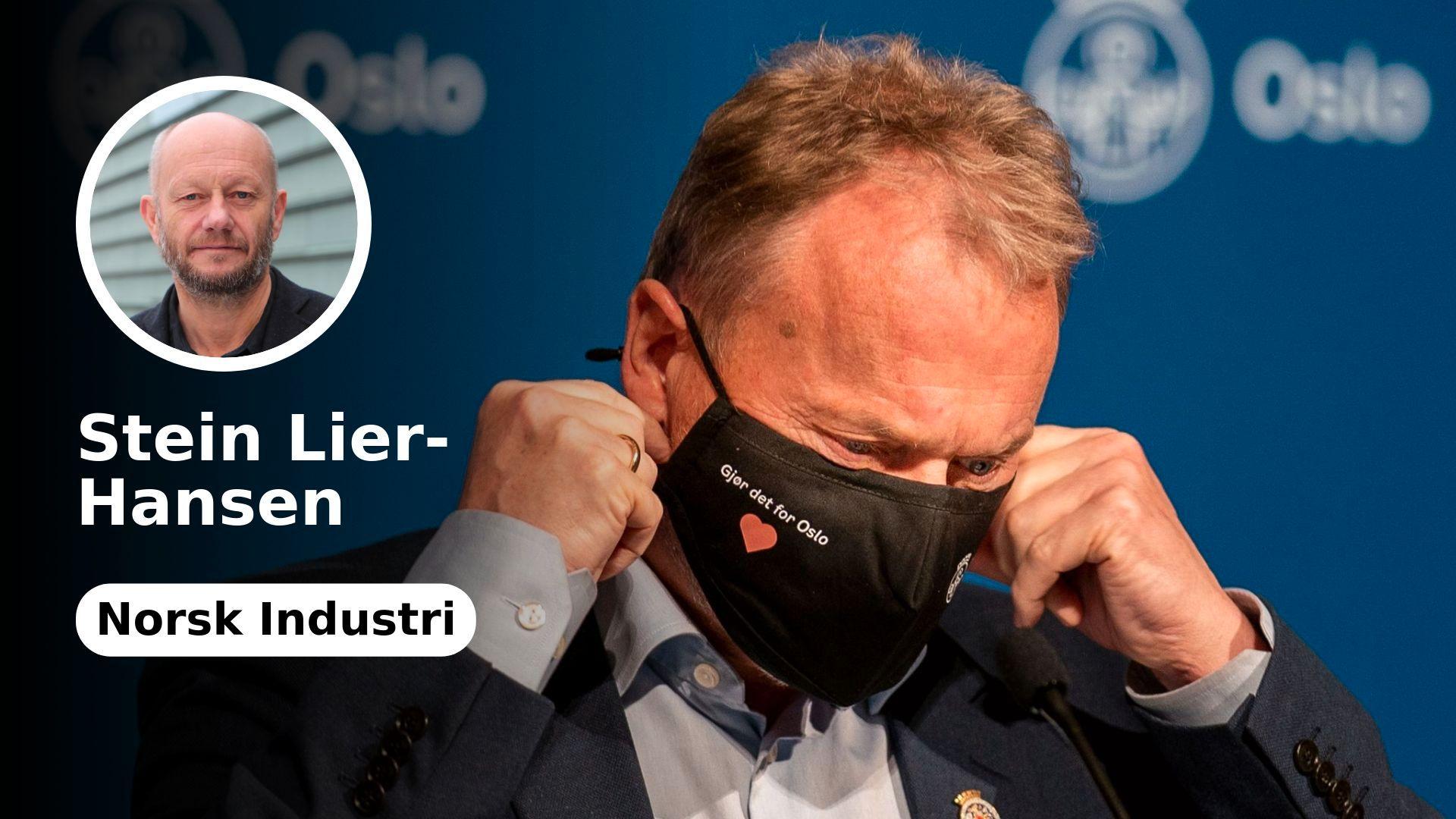 Oslo kan ikke skylde på industrien