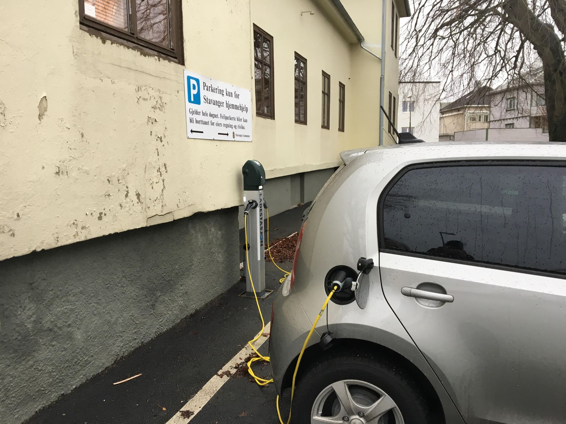 Lading av elbil i Stavanger | Stavanger kommune