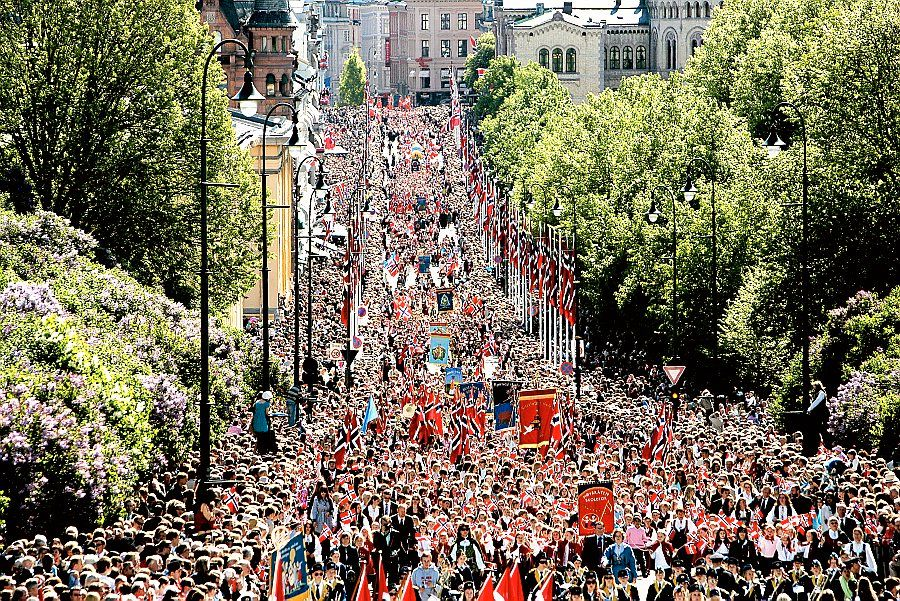17 Mai Toget I Oslo