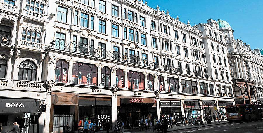 Norges Bank Kjoper Regent Street