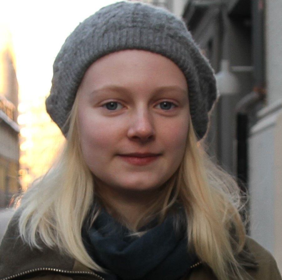Johanne Fearnley (17), leder i Oslo Press