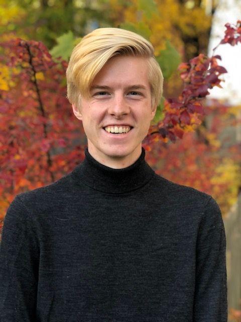 Tage S. Jensen (19), Unge Høyre