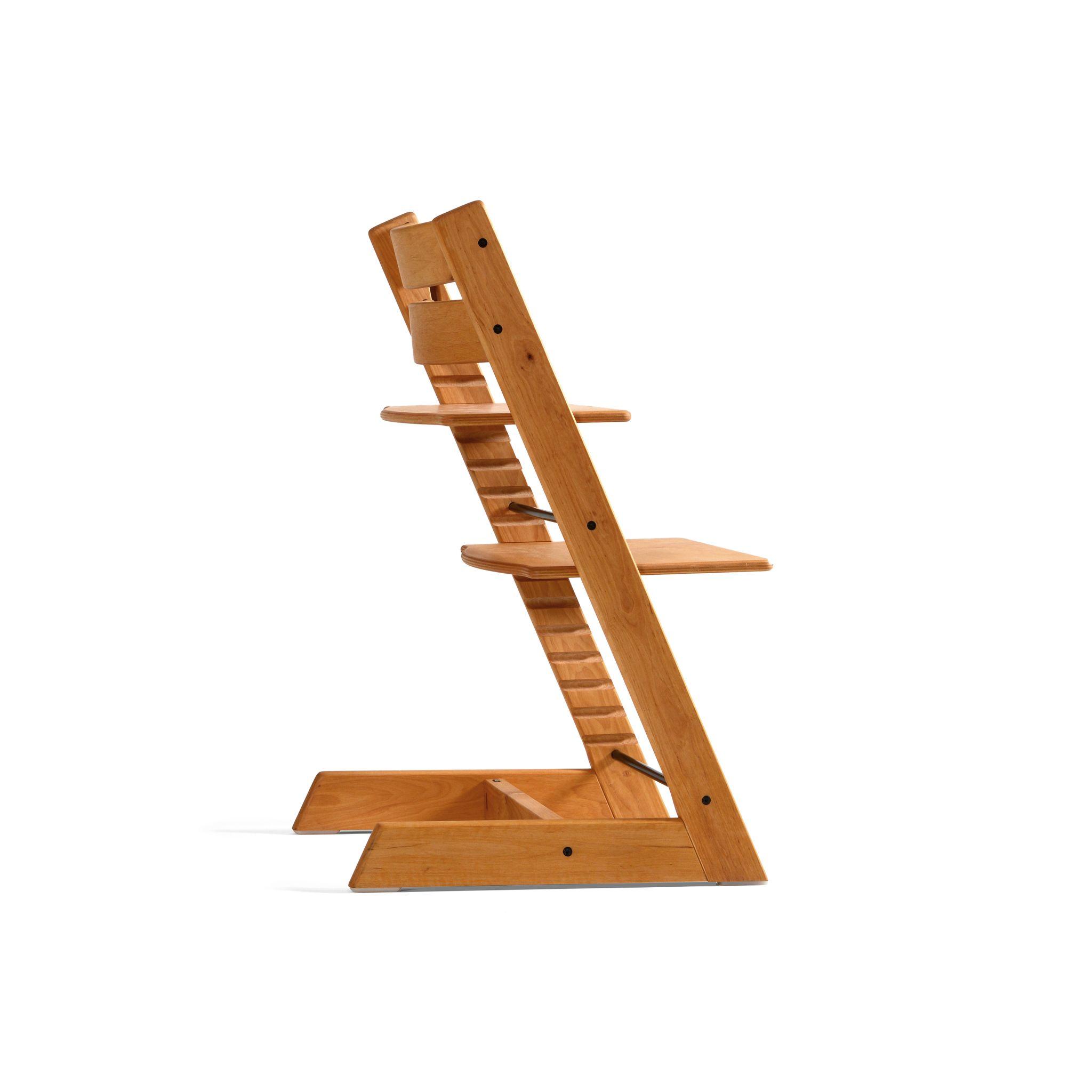Annonse:Derfor er Tripp Trapp stolen formet som en trapp