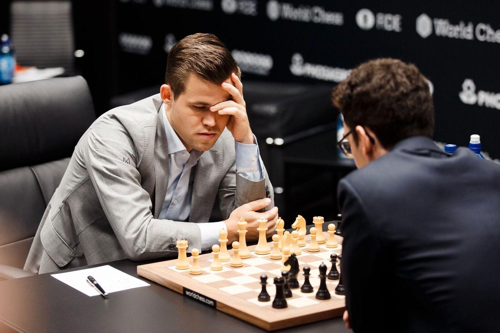 Magnus Carlsen Matte Ta En Karjakin Helt Utrolig