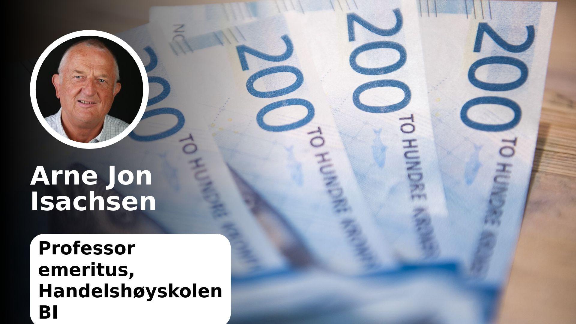 Finans Norge Vil At Oljefondet Forblir I Norges Bank Arne Jon Isachsen