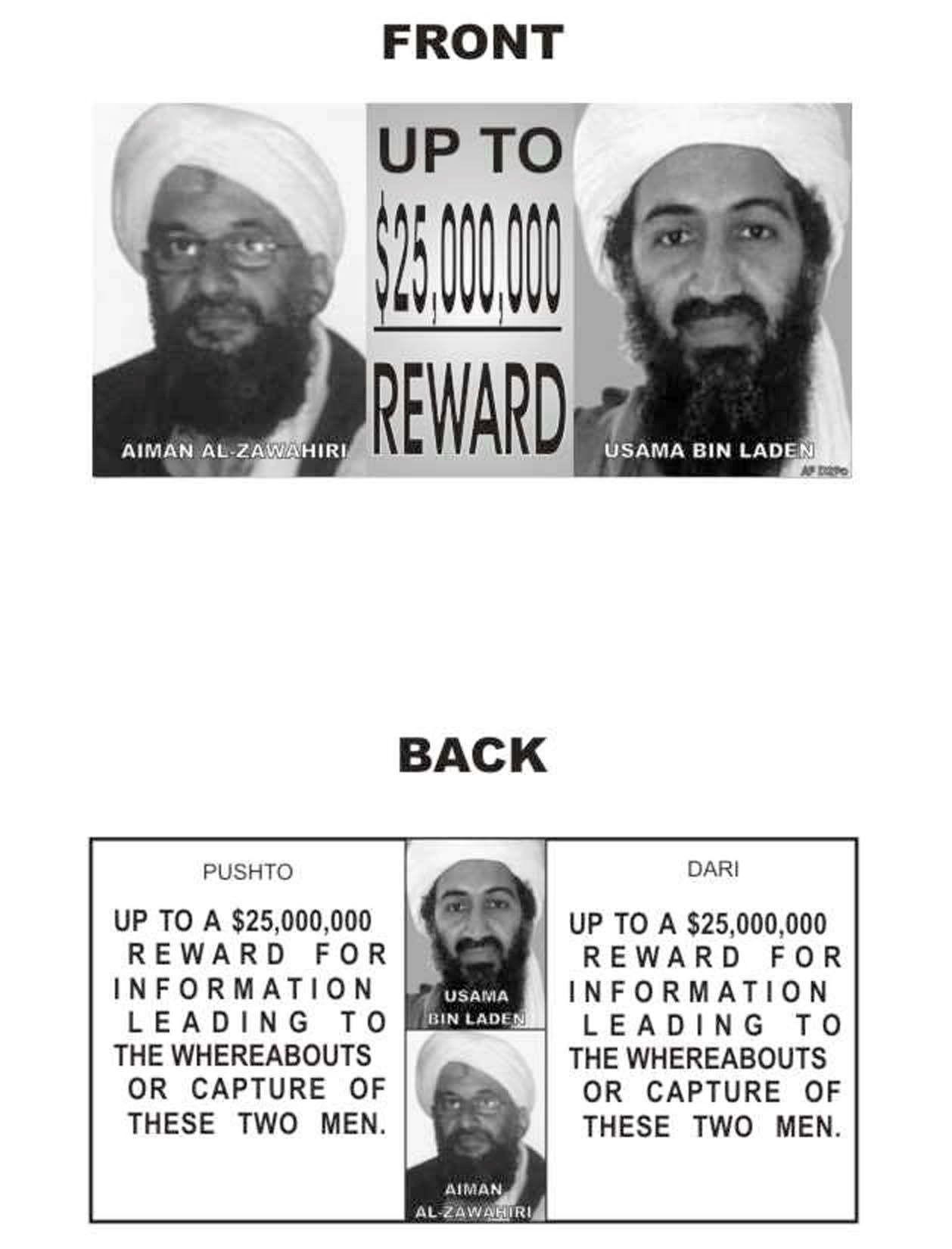 Hevder å ha tipset FBI om bin Ladens tilholdssted i 2003