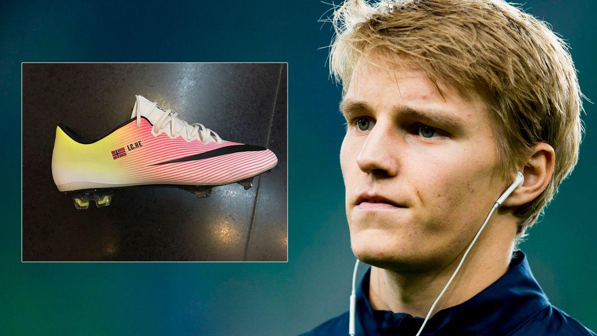 Dette er bakgrunnen for Ødegaards sko hyllest: De