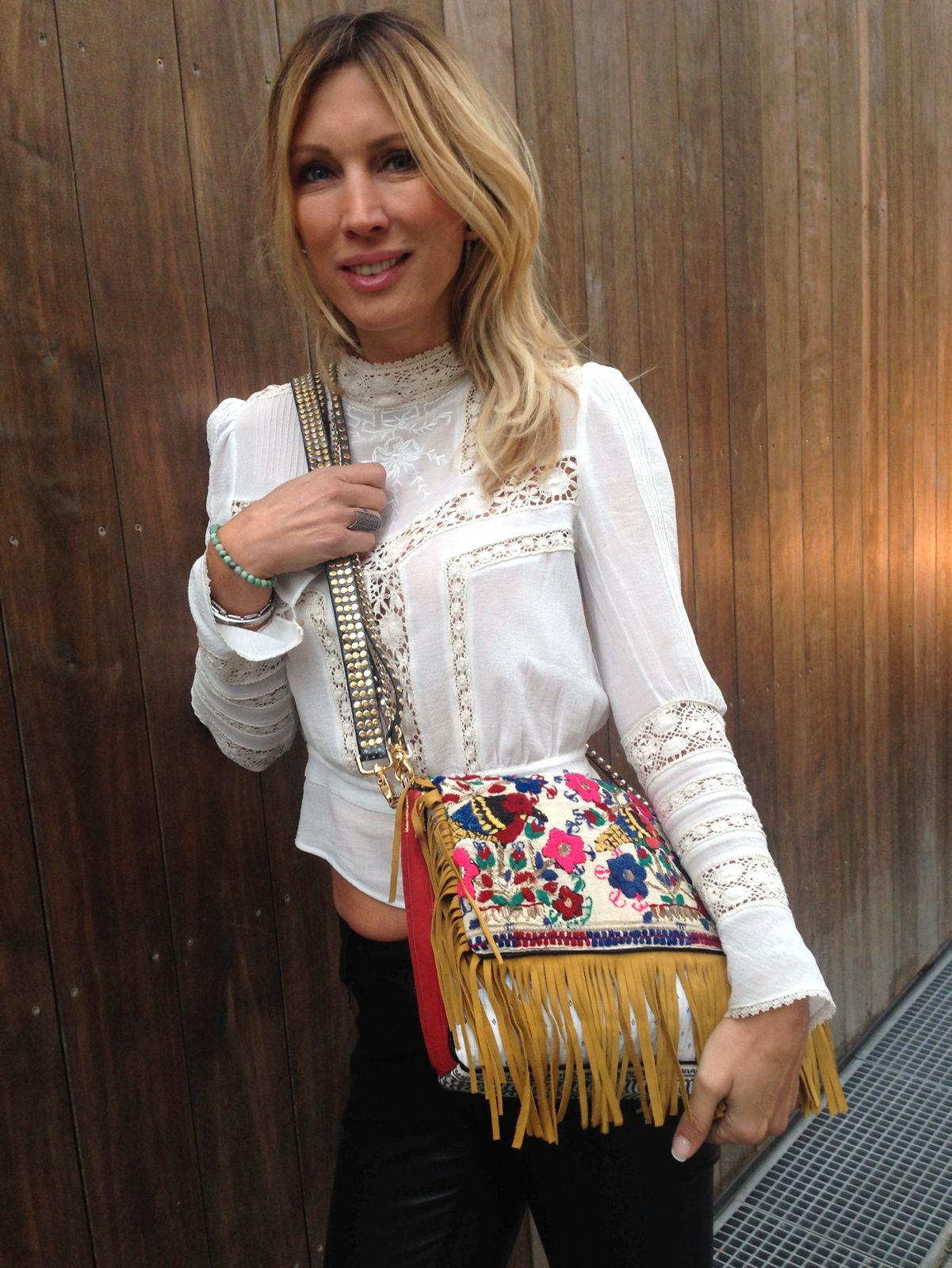 Norsk designer lager kule hippie vesker Kate Moss bare MÅ ha