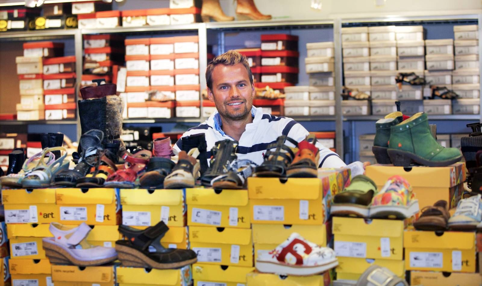 Smertegrensen for et par sko går på 3000 kroner