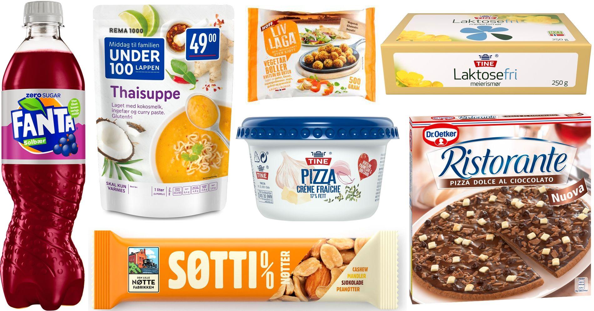 Disse Nye Matvarene Kommer I Butikken I Host