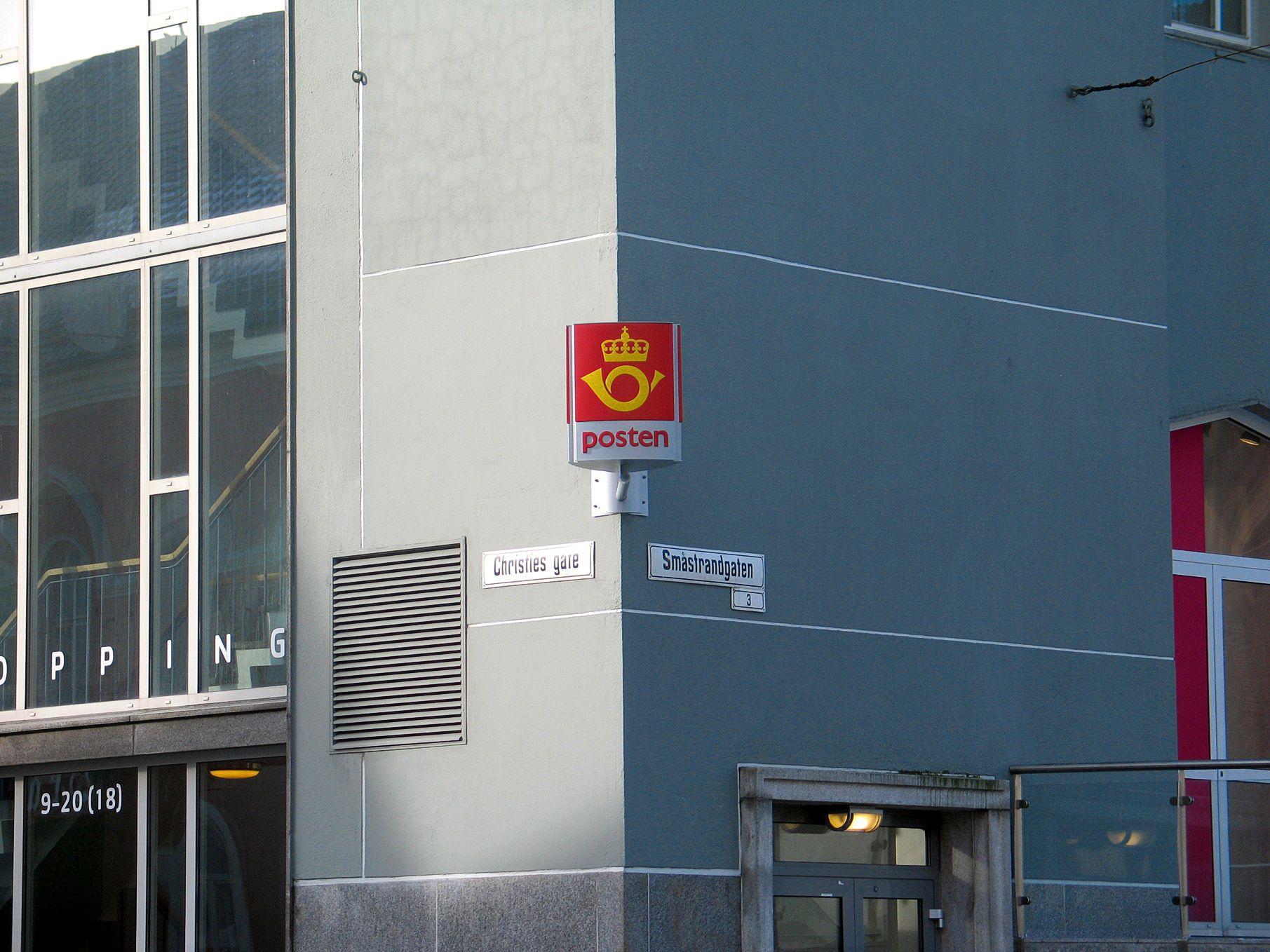 Posten Bergen Åpningstider