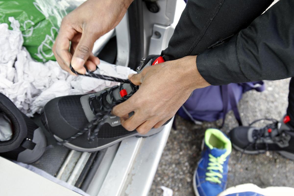 På langtur i lånte sko