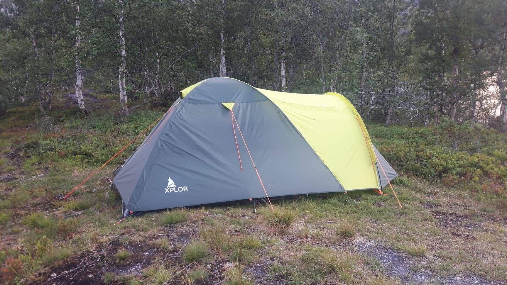 Teltmysterium i Aurland løst: Skremt vekk av «oksekalver»