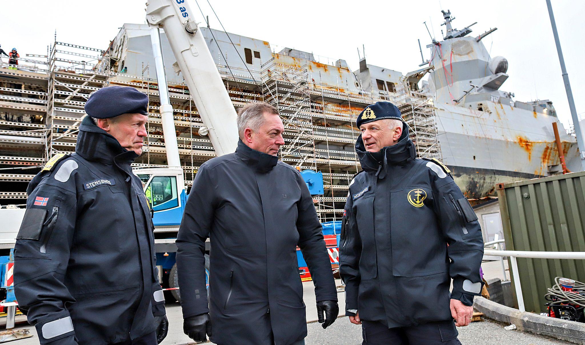Forsvaret: Koster 12 milliarder å fikse KNM «Helge Ingstad»