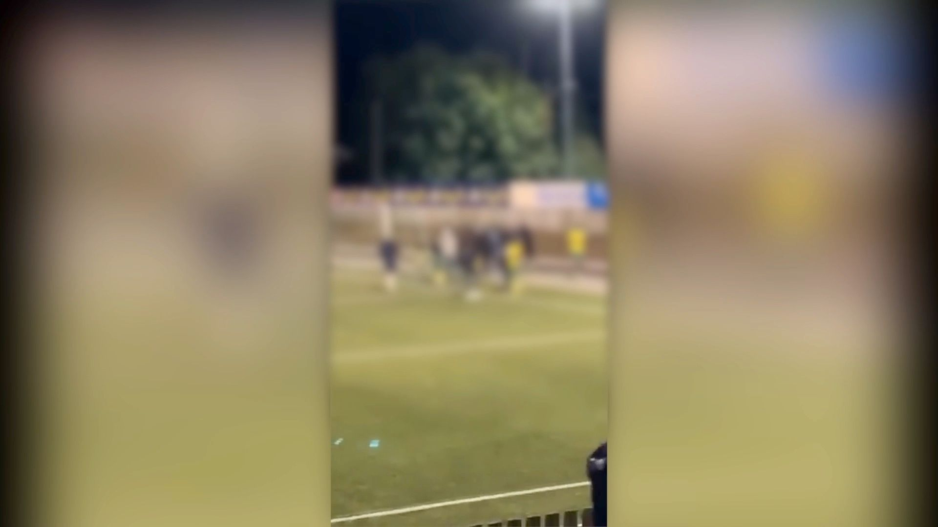Reported to police after a fight at a youth match ...