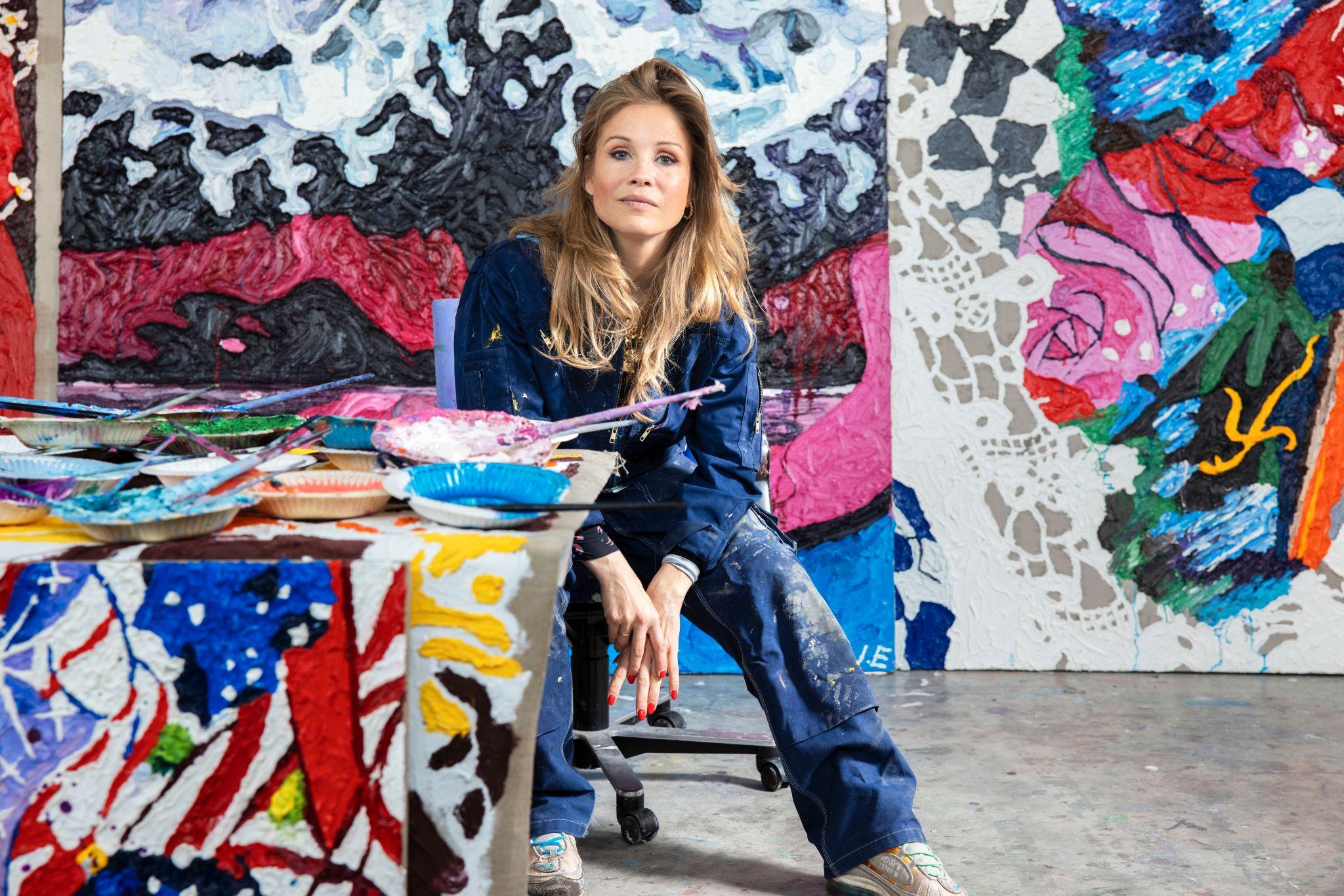 Ida Ekblad: «Man får ikke en stor karriere uten å jobbe